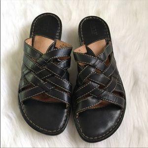 Born Slip on sandals, size 9 US, EUC